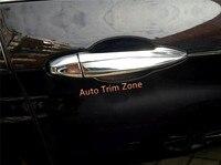 8 PCS ABS Plastic Chromed Exterior Door Handle Cover Trim Left Hand Drive For BMW 2 Series Active/ Gran Tourer F45 F46 2015 2018