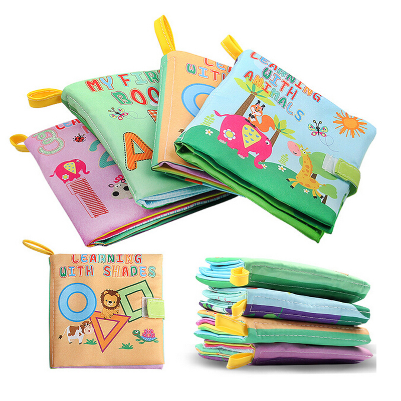 Hot Infant Kids Early Development Cognitive Learning Educational Digital/Animal Cloth Books Learning Intelligence ToysHot Infant Kids Early Development Cognitive Learning Educational Digital/Animal Cloth Books Learning Intelligence Toys