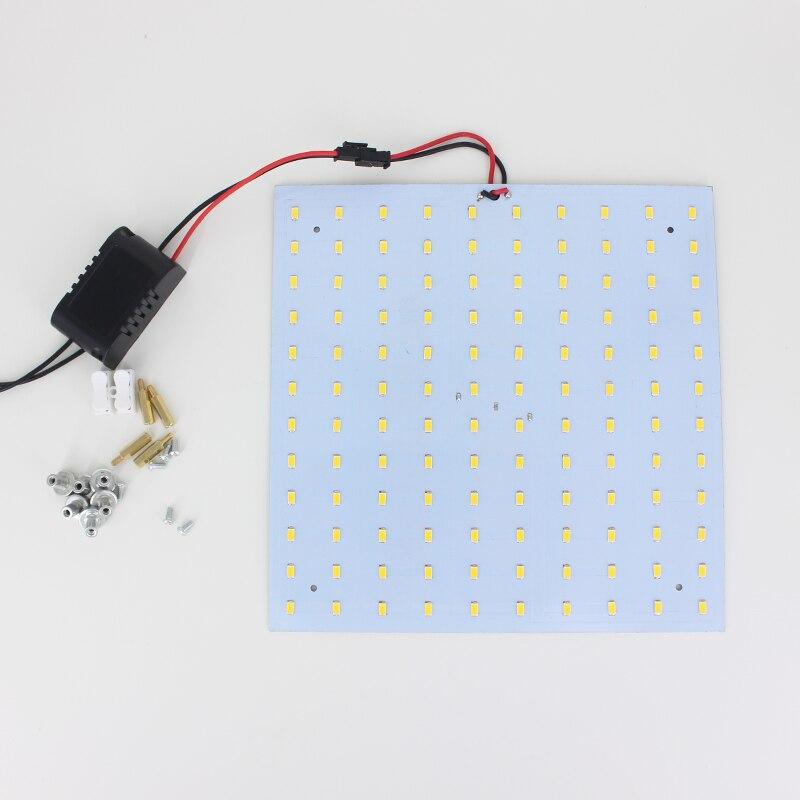 все цены на on Sale! 21W 180-265V Square Quadrate SMD5730 Magnetic LED Ceiling Light Bulb LED Panel Lamps for DIY онлайн