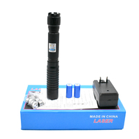 High Power Most Powerful Military 450nm Blue Laser sight Pointer Pen Adjustable Focus Burning Paper Matches and firecrackers