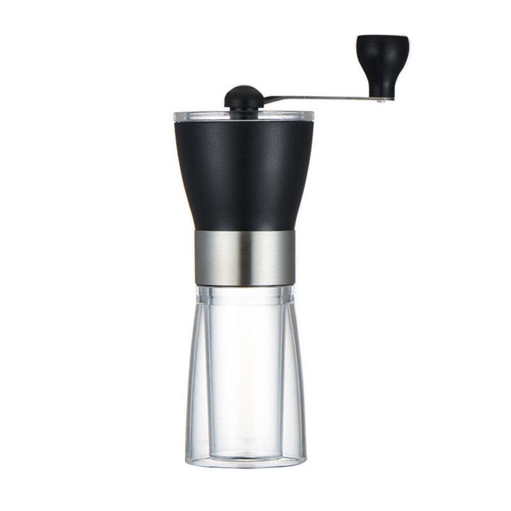 Manual Ceramic Coffee Grinder Stainless Steel Adjustable Coffee Mill with Storage Rubber Loop Manual Coffee Grinder Tool