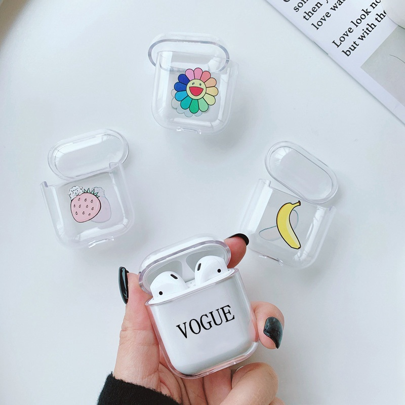 Cartoon Case For Apple Airpods Accessories Bluetooth Earphone Cover For Airpods Protective Case Headphones Cases Box Hard Funda