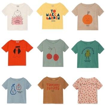 BOBOZONE 2019 NEW BOBO loose t-shirt for kids boys girls summer tee tops 1
