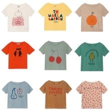 BOBOZONE 2019 nuova maglietta allentata BOBO per bambini ragazzi ragazze magliette estive
