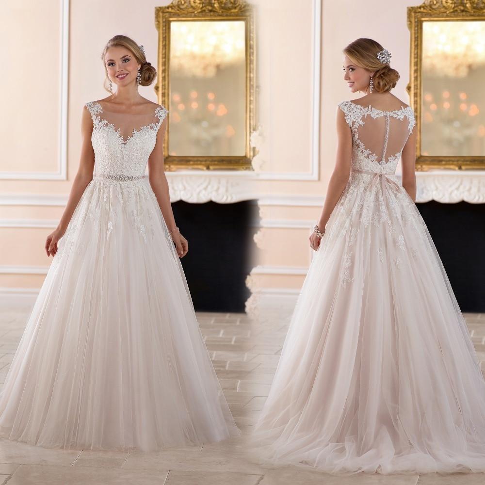 Elegant simple wedding dress reviews online shopping for Simple classy wedding dresses