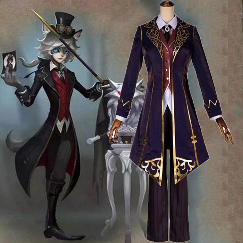 Game Identity V Cosplay Costumes Photographer Joseph Moonlight Gentleman Costume Halloween Carnival Party Customized
