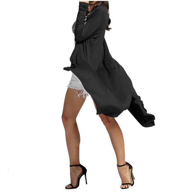 BFYL Women Cardigan Casual Winter Outwear Crochet Knitted Blouse Tops long Sweaters