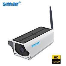 2MP безопасности солнечной Камера Мощность открытый Водонепроницаемый Wi-Fi IP Камера Ночное Видение видеонаблюдения Камера видео Регистраторы TF карты