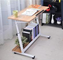 80*40CM Lazy Mobile Laptop Table Portable Notebook Computer Desk Bedside Table