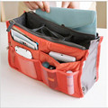 12 Colors Make up organizer bag Women Men Casual travel bag multi functional Cosmetic Bags storage bag in bag Makeup Handbag