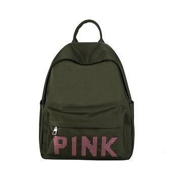 2018 New Fashion Wobag Women Backpack High Quality Nylon Backpacks for Teenage Girls Female School Shoulder Bag Bagpack mochila