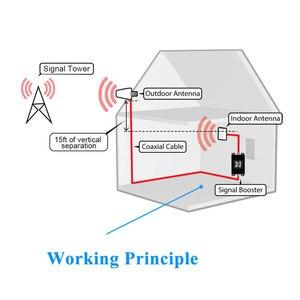 Image 5 - を Lintratek 信号ブースターリピーターの gsm 900 1800 mhz デュアルバンド 2 グラム 900 MHz 1800 Mhz の Lte 4 グラム携帯電話信号リピータ 20 メートルケーブルキット @