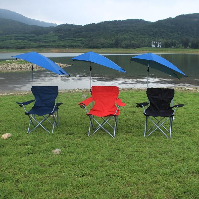 Складные стулья для отдыха на открытом воздухе портативный стул рыбалки пляжный зонтик стул эскиз стул Кемпинг самоуправляющийся стул для ...