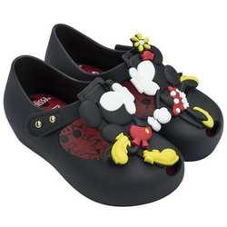 Melissa 2018 новые летние мини-близнецы мышь животный узор обувь прозрачная обувь сандалии для девочек Нескользящие Детские сандалии для
