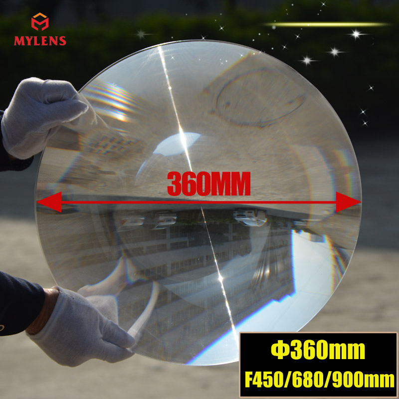 Fresnel lens:D360 F450mm ,PMMA ( acrylic)material,big size long focus lens for solar collecting