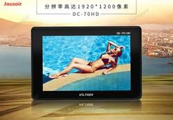 DC-70HD Photography 7 HDMI video display IPS HD SLR Camera Director Monitor CD05 T03