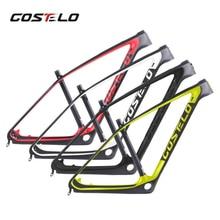 Costelo SOLO 2 carbone montagne vtt vélo cadre en carbone Torayca UD cadre de vélo en Fiber de carbone 27.5er 29er carbone vtt cadre de vélo