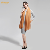 100% Silk Chiffon Scarf 110X200cm Natural Silk Fabric Pure Color Plus Size Fashion Women Scarf Long Scarf