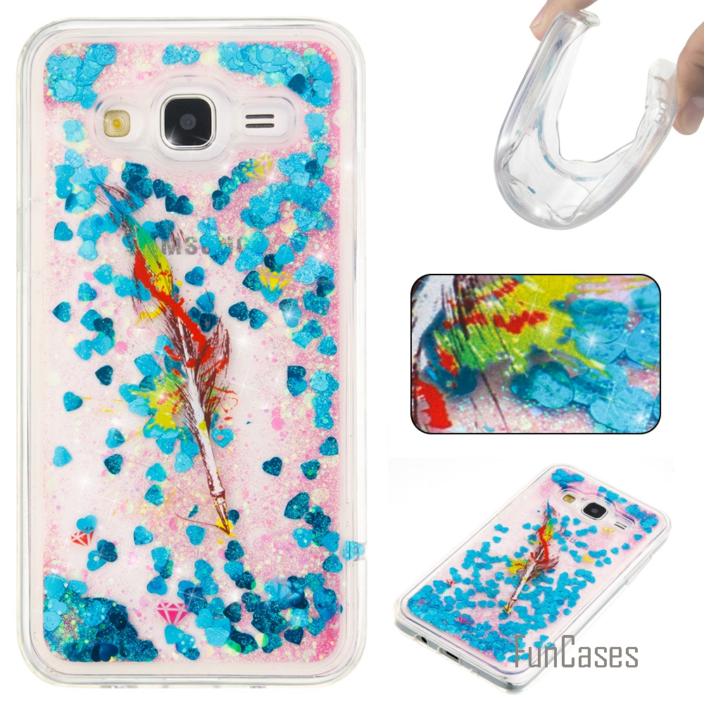 Funda Cute Quicksand Soft TPU Case For Samsung Galaxy J5 Coque Cartoon Phone Case Carcasas Etui Ajax Caso For Samsung J500 Movil