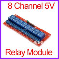 10pcs/lot 8 Channel 5V Relay Module with Optocoupler For Arduino PIC ARM AVR DSP