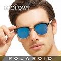 Beolowt marca moda gafas de sol polaroid con mujeres de los hombres polarizados de conducción gafas de sol con caja caso bl329