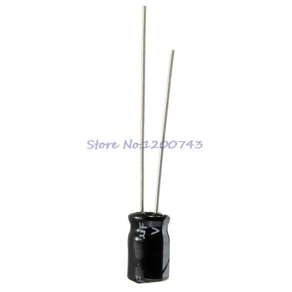 50pcs/lot Higt Quality 25V22UF 4*7mm 22UF 25V 4*7 Electrolytic Capacitor
