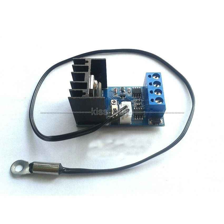 DC12V Temperature Speed Controler Denoised Speed Controller for PC