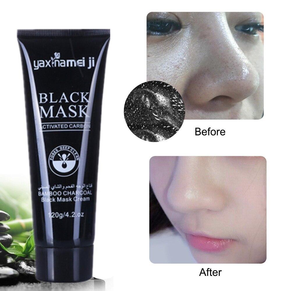 DISAAR Skin Care Bamboo Charcoal Facial Mask Moisturizing