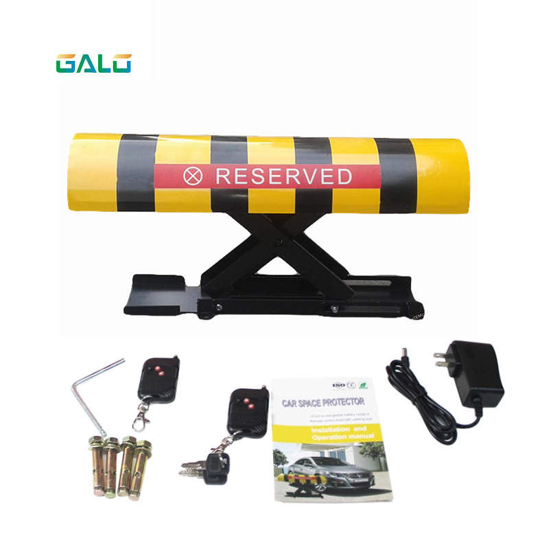 IP57 camber Rechargeable Parking Space Barrier Remote Control Automatic Car Parking LockIP57 camber Rechargeable Parking Space Barrier Remote Control Automatic Car Parking Lock