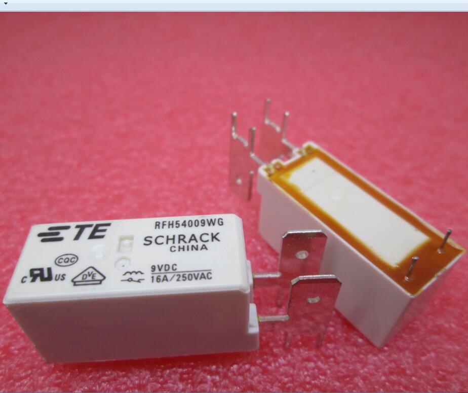 NEUE relais RFH54009WG 9VDC RFH54009WG-9VDC 9VDC DC9V 9 v 16A 250VAC