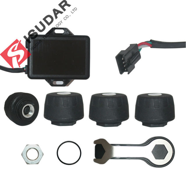 Isudar Tire Pressure Alarm Monitor For Isudar Android Car Multimedia Player/TPMS Android 5.1.1 Android 6.0 Car DVD Player