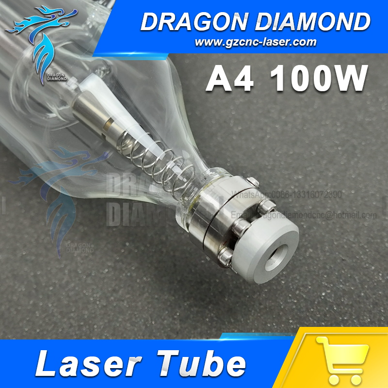 Hight Quality 1400MM 100W Co2 Glass Laser Tube for CO2 Laser Engraving Cutting Machine hot sell high quality cw3000 water chiller cooling laser tube for laser machine