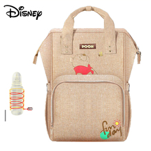 Disney Baby Diaper Bags USB Heating Mummy Maternity Nappy Stroller Bag Insulation bebek bakim cantalari Travel Backpack