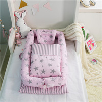 Home Textile 3pcs Set Baby Bed Set Boys Girls Newborn Gift Dinosaur Bedding Set Removeable And