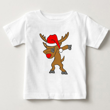 лучшая цена Children Harajuku Dabbing Unicorn Cartoon Funny T shirt Baby Boys/Girls Short Sleeve Summer Tops Kids Clothes kids summer tshirt