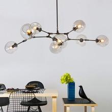 Minimalist Retro Loft Ceiling Lights Industrial Iror Glass AC 85-265V Black Gold Ceiling Lamp for living Room Bar Restaurant все цены