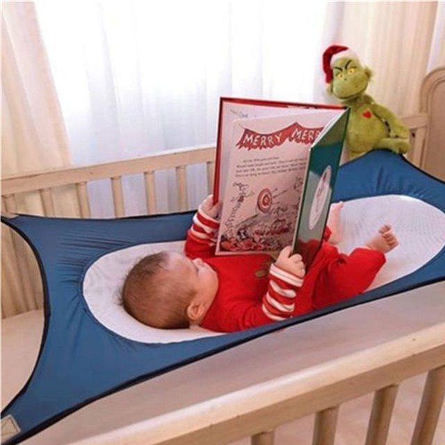 Baby Hammock Swing Bed Infant Safety Baby Hammock Bed Newborn Children's Detachable Portable Soft Bed