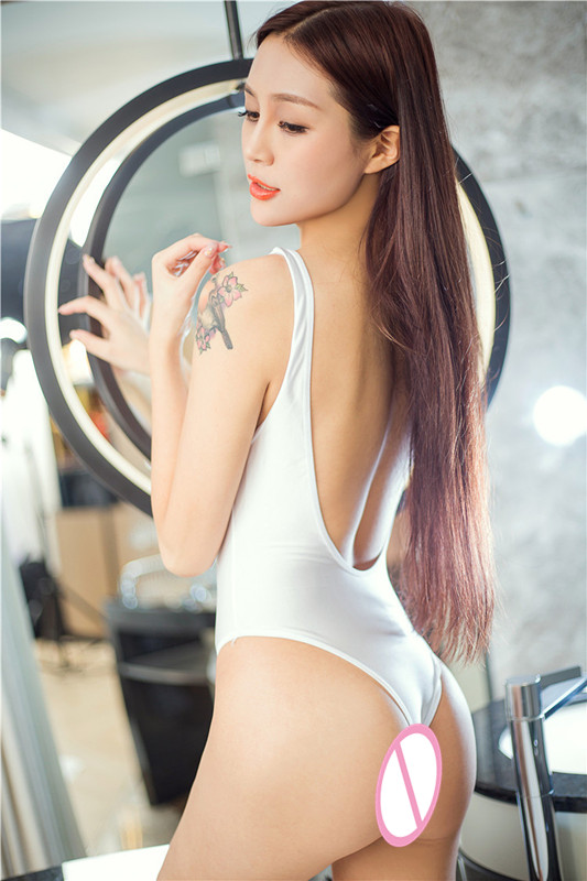 New Women 39 s Sexy Underwear White Backless Lace Deep V neck Pajamas Erotic Babydoll Clothes Sexy Lingerie Lingerie Bodysuit 2019 in Teddies amp Bodysuits from Novelty amp Special Use