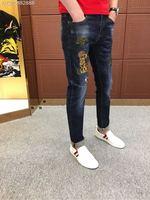 WE07622BH Fashion Men's Jeans 2018 Runway Luxury Brand European Design party style Men's Clothing