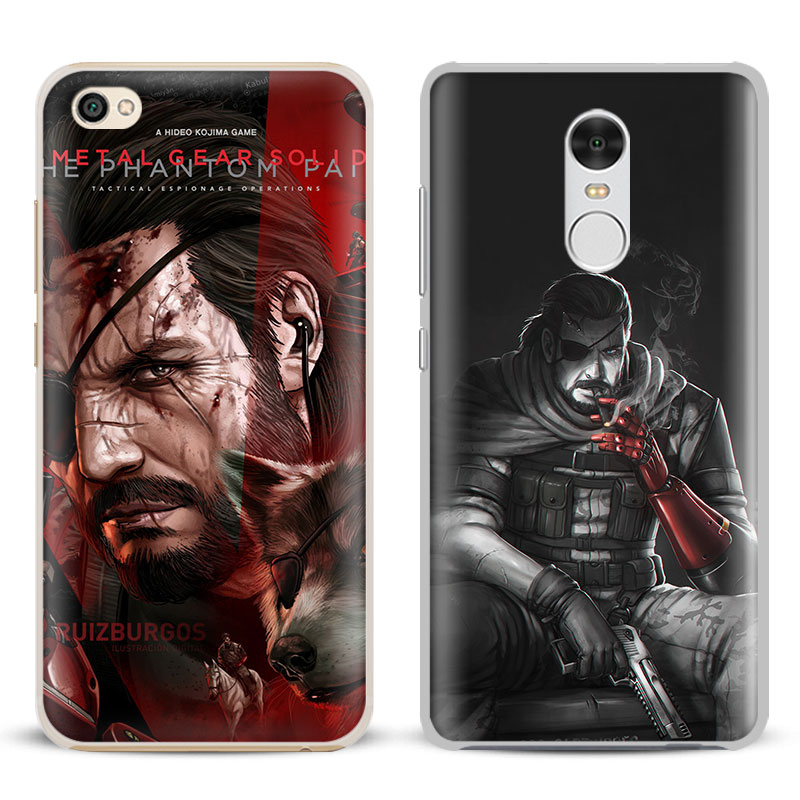 Metal Gear Solid MGS V Big Boss Phone Case Shell Cover For Xiaomi Redmi Note 4 4X 5A 6 6A PRO Mi 8 5 5S PLUS Max A1 Note 2 3