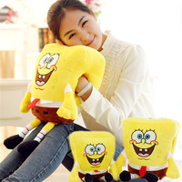 Warming Hands Cartoon SpongeBob Subsection Girl Child Plush Toys Stuffed Doll For Kids Best Birthday Christma
