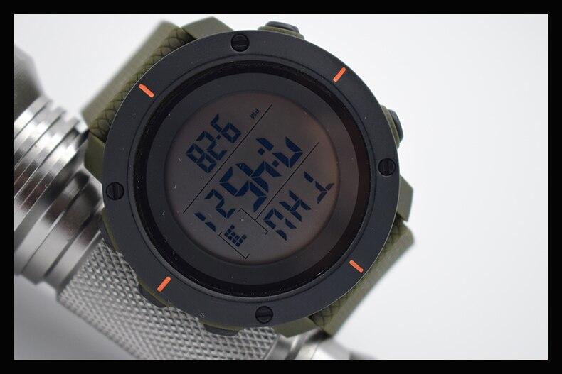 Verde impermeable digital relojes automáticos para hombres digitais reloj  corriendo mens hombre reloj aerodinámico barato útil en Relojes digitales de  ... bb355ad7aeec