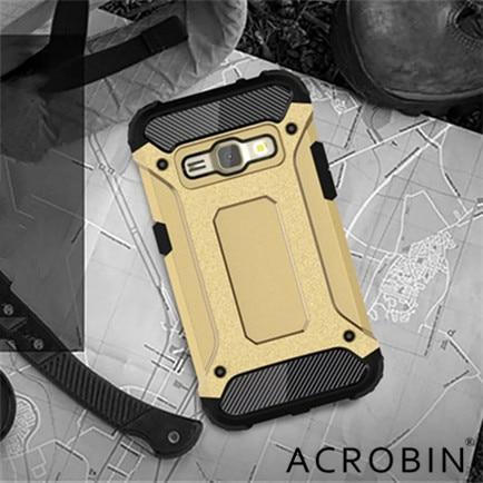 New For Samsung Galaxy 2016 J5 J7 J1 mini J2 J3 J5 J7 Prime G530 cover Slim Armor Anti-Shock Silicone Hybrid Hard PC Phone Case