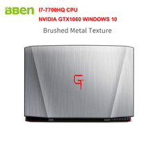 Bben G16 Windows 10 15.6″ FHD1920*1080 Intel I7-7700HQ CPU 8G RAM 128G SSD 2T HDD NVIDIA GTX1060 GDDR5 6G Ram Backlit Keyboard