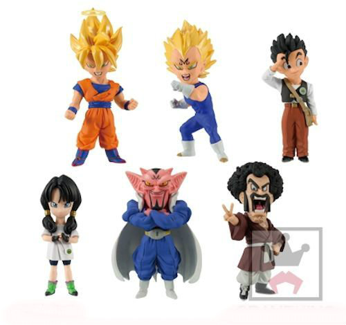 Dragon Ball Z World Collectable Figure  Episode of Boo Buu Vol.1 -Gohan,Videl,Mr.Satan,Gokou,Majin Vegeta,Darbura- 100% Original