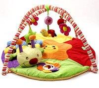 Colorido Tapete de Juego Bebé alfombra de Juegos Con Lindo Musical Juguetes Kids Play Mat Alfombra Niños Crawling Juguetes Educativos zl837