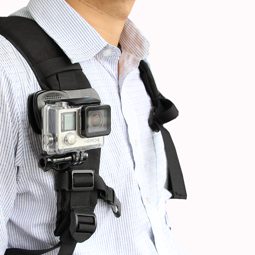 Telesin liberación Quik 360 Rotary mochila clip rec-monta rápido hat clip Mount para GoPro Hero 6 héroe 5 4 3 2 xiaomi Yi