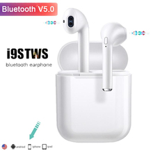i9s Tws Wireless Earphones mini wireless Headphones Bluetooth Headset 3D Stereo Earbuds For iphone Samsung All Smart Phone q9 mini business bluetooth earphones wireless 3d stereo headphones headset and moble phone power bank usb charger for phone