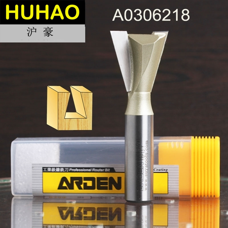 fresas para router Woodworking Tools Dovetail Arden Router Bit - 1/2*3/8 - 1/2 Shank - Arden A0306218