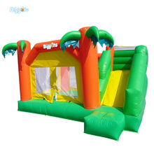 Jungle Inflatable Jumping Castle Combo Games for Children